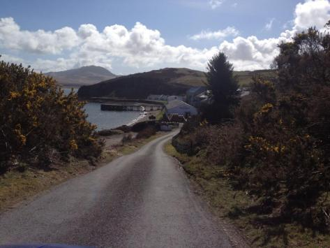 Road to Bunnahabhain