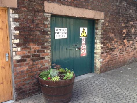 Warehouse at Glenkinchie