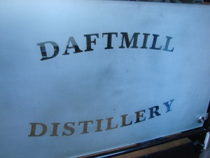 Daftmill Sign