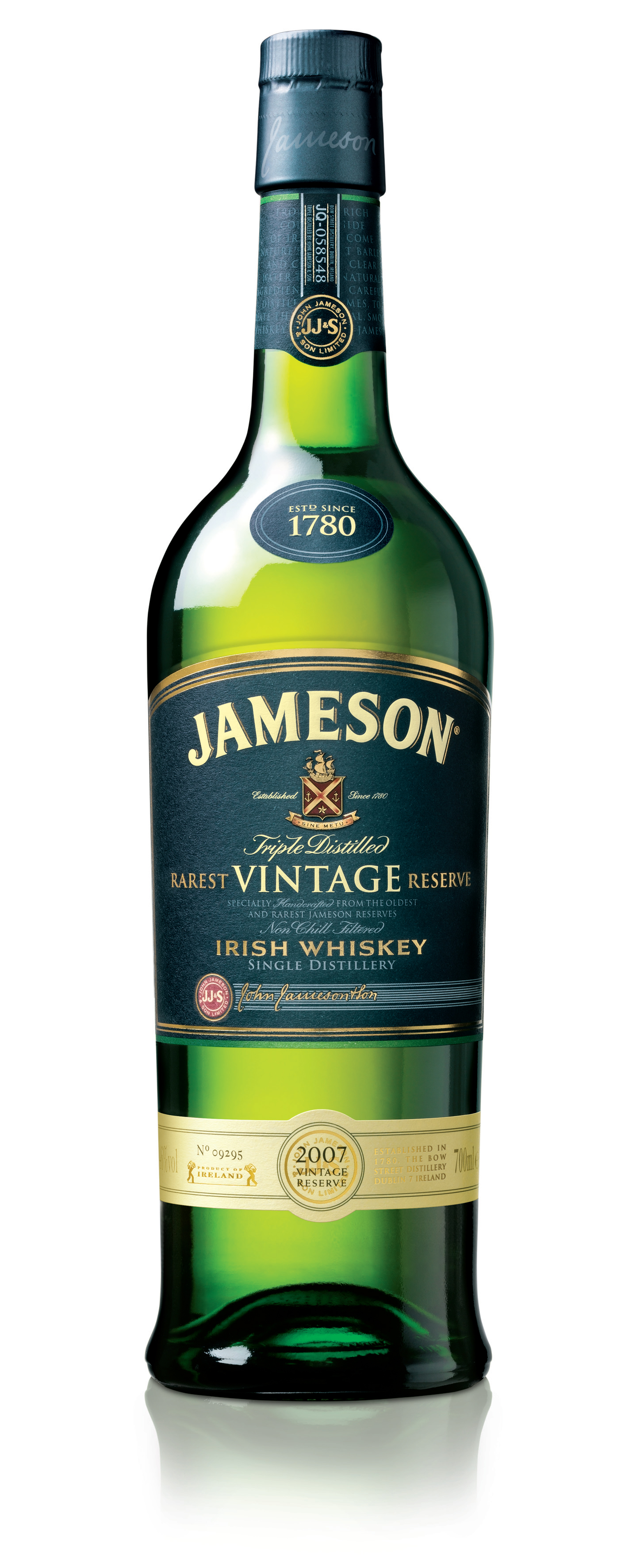 Jameson Irish Whiskey Tweet TastingJameson Irish Whiskey Bottle