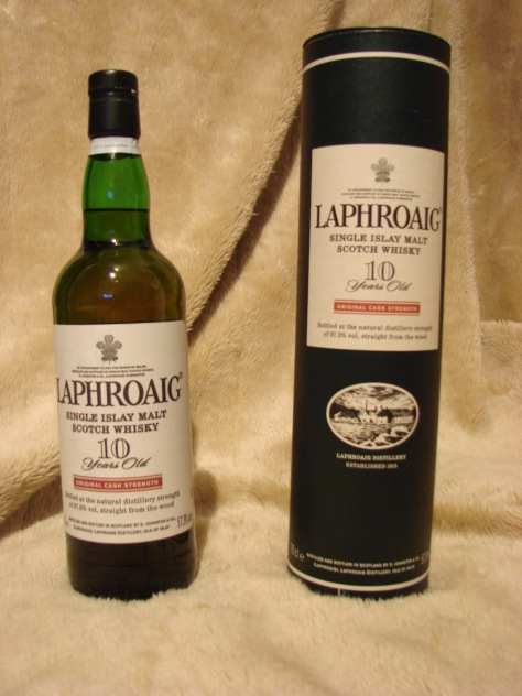 Laphroaig 10 Years Old Original Cask Strength