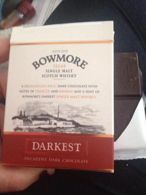 "Bowmore ""Darkest"" Chocolate Ba"
