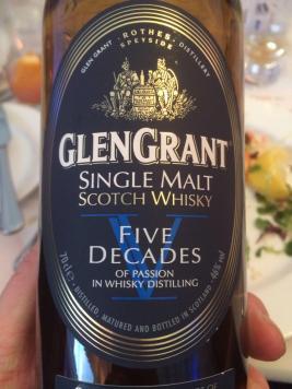 Glen Grant V Decades