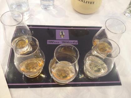 Miss Whisky Tasting Mat