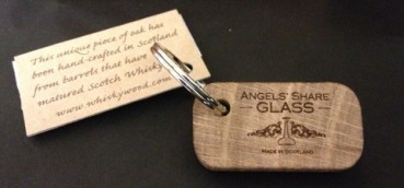 Angels' Share Keyring