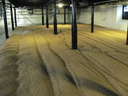 Highland Park Malting Floor
