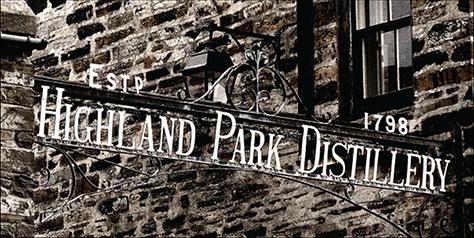 Highland Park Signage