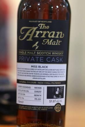 Miss Black's Bottle