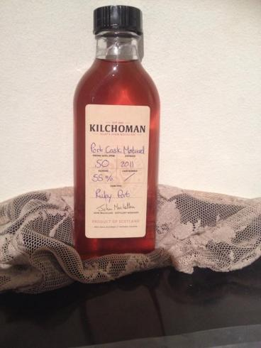 Kilchoman Port Cask Release Sample