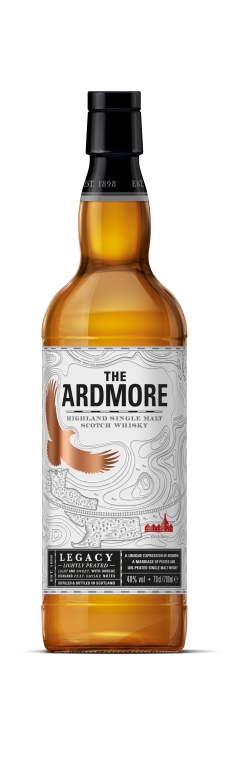 The Ardmore Legacy bottle shot