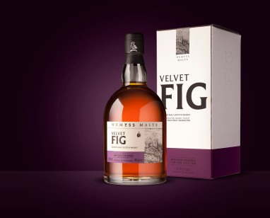 Wemyss Velvet Fig Bottle