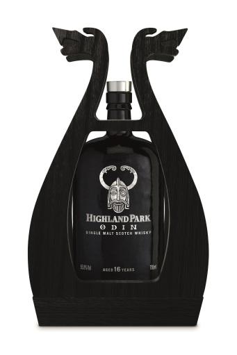 Highland Park Odin packaging