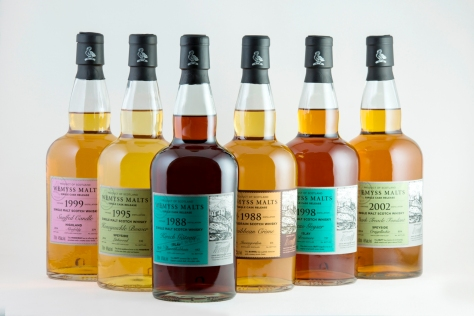 Wemyss latest single casks releases Feb 2015