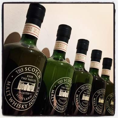 Five green bottles..