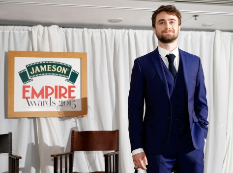 Daniel Radcliffe attends the Jameson Empire Awards 2015