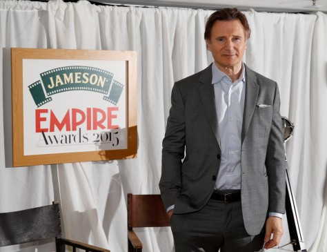 Liam Neeson attends the Jameson Empire Awards 2015