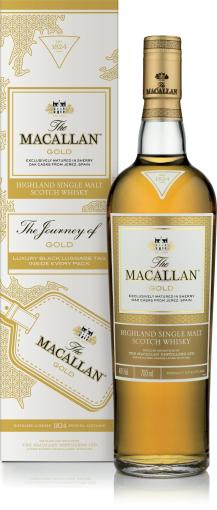 The Macallan Gold luggage