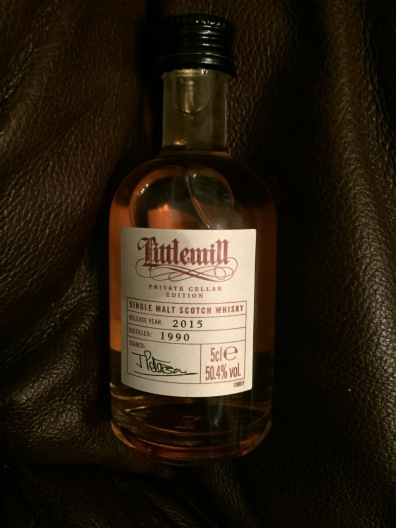 Littlemill Private Cellar Edition 25yo