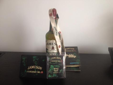 Jameson welcome pack