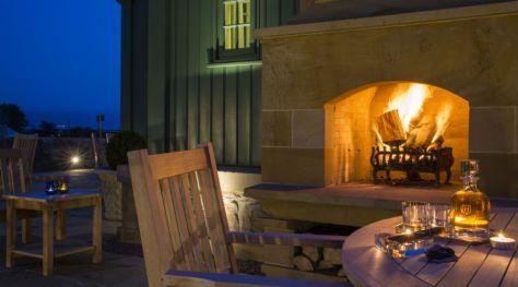 Links House Fireplace