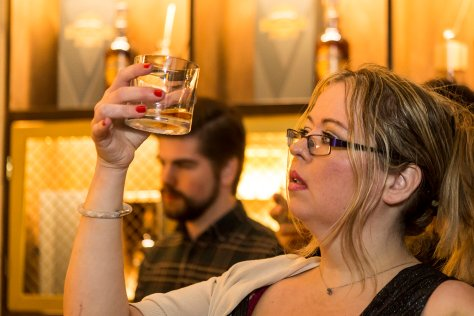 Kirsty enjoys Chivas Regal Ultis Launch