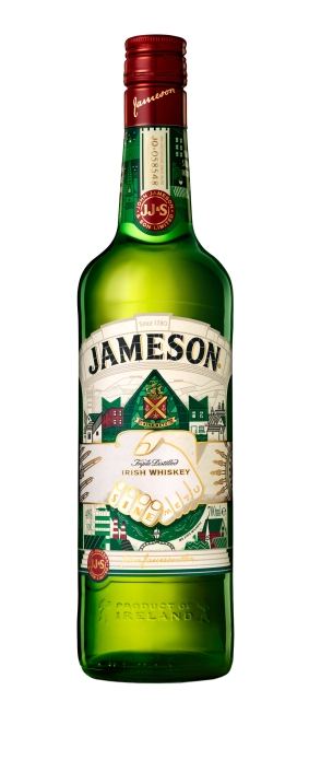Jameson Limited Edition St Patrick's Day Bottle